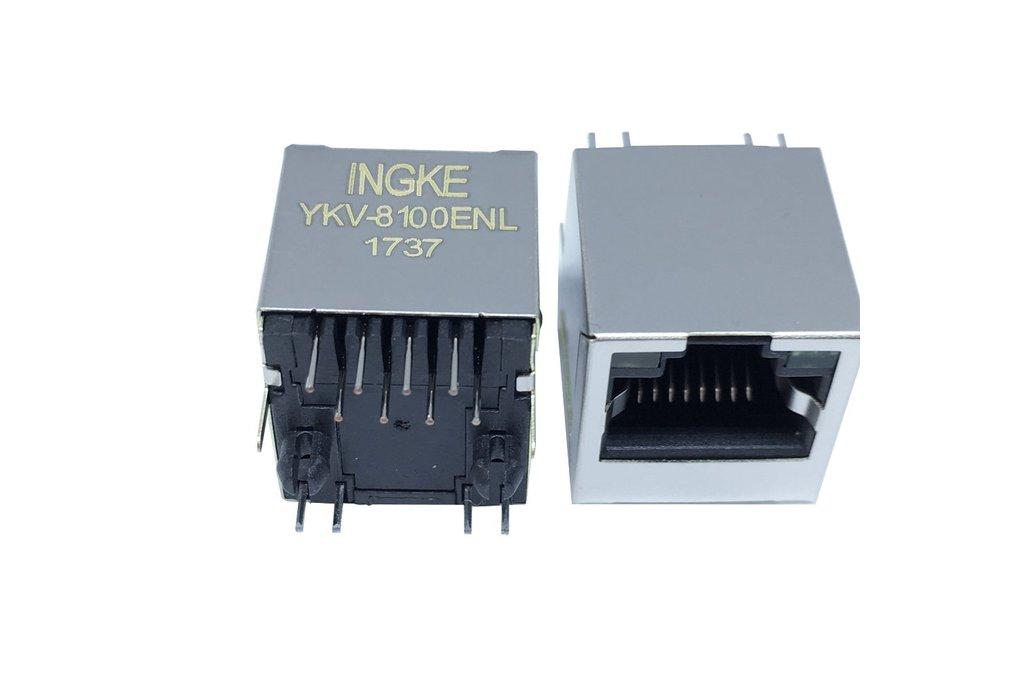YKV-8100ENL RJ45 Ethernet Connectors 1