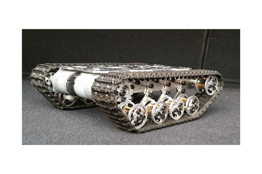 Shock Absorption Robot Tracked Tank Car