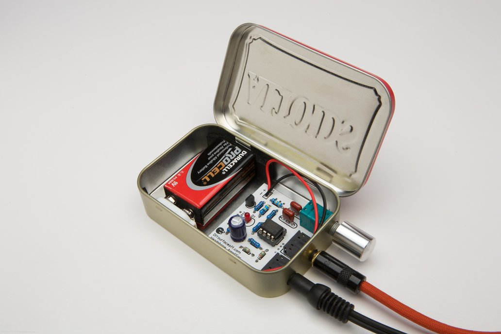 CMOY Headphone Amplifier- Choice of Tin 4