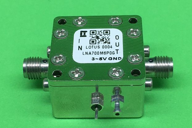 Amplifier-LNA 0.7GHz to 6.0GHz Low Noise NF 0.4dB