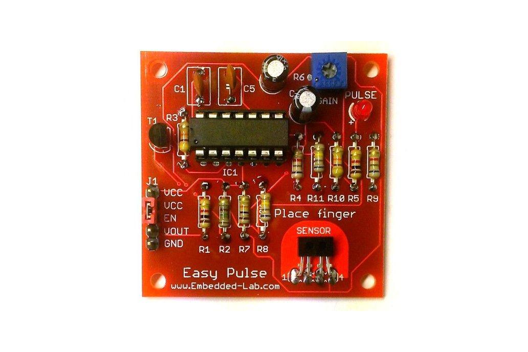 Easy Pulse PCB + TCRT1000 2