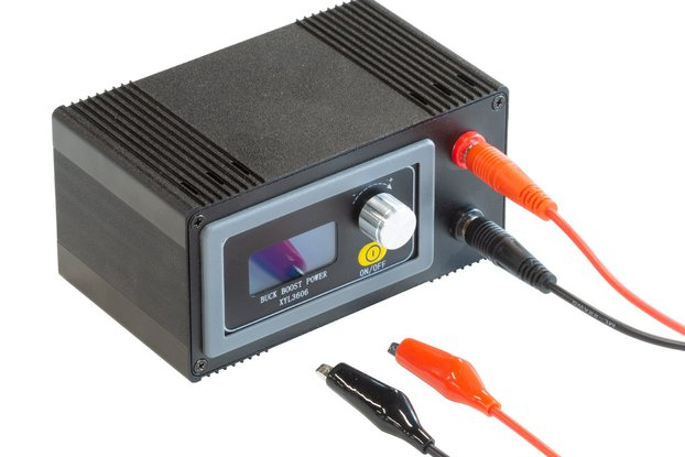 6A Variable Voltage Power Supply with Metal Case