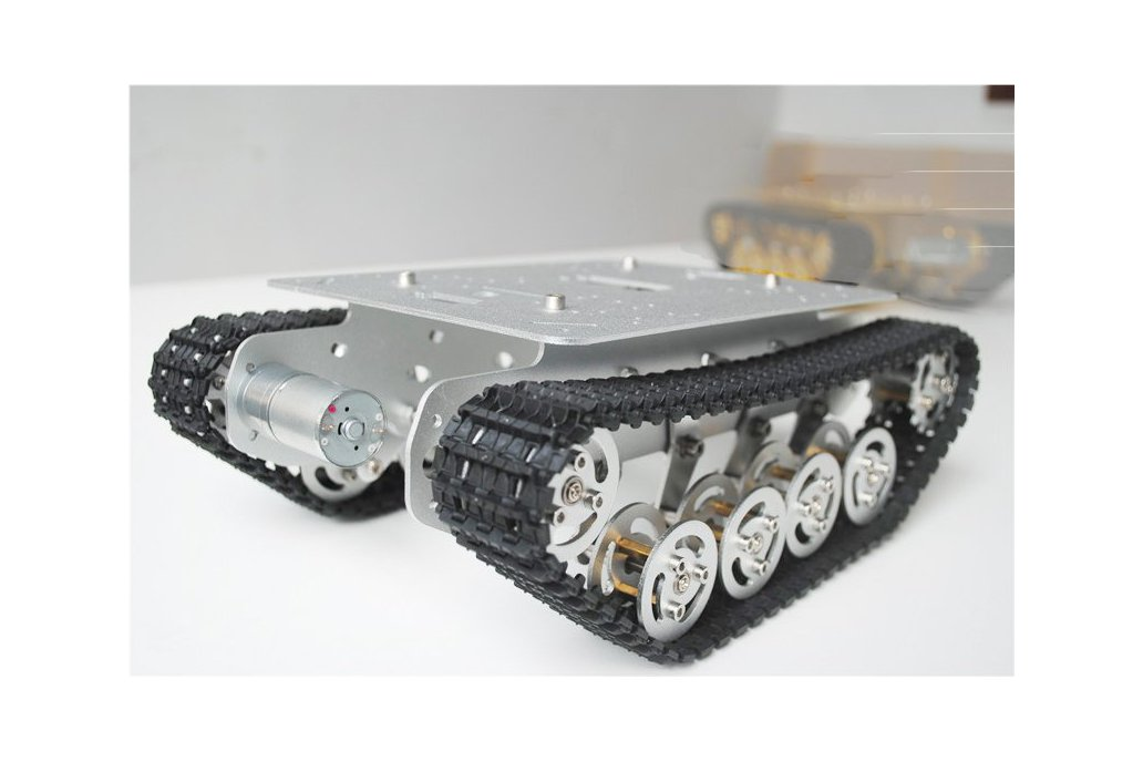 Metal Shock Absorption Robot Tracked Tank Car 1