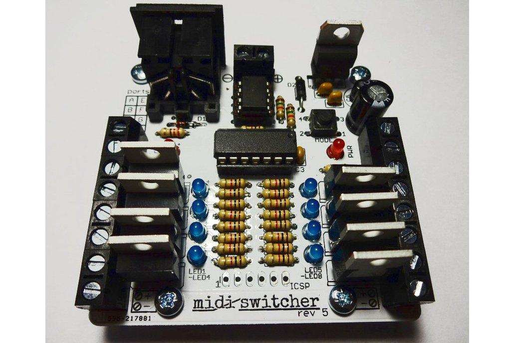 MIDI Switcher: Set your MIDI free!! 1