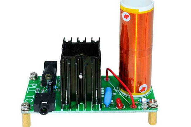 15W Mini Tesla Coil Plasma Speaker DIY Kits