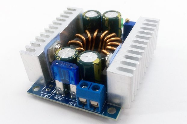 DC-DC Step Up 8V-32V to 9V-46V High-Power Module