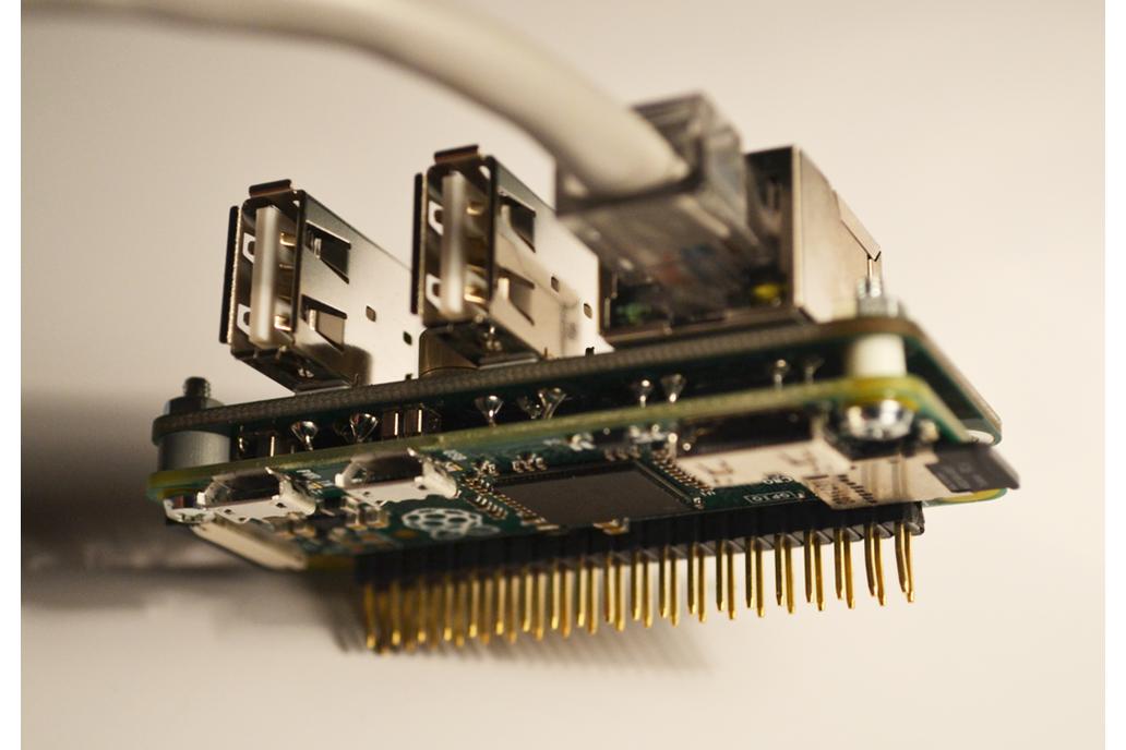 Raspberry PI Zero Ethernet RJ45 and USB hub Shield 1