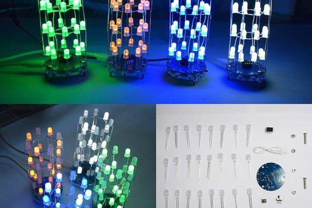 Christmas Star Flashing Dimensional Round LED kit