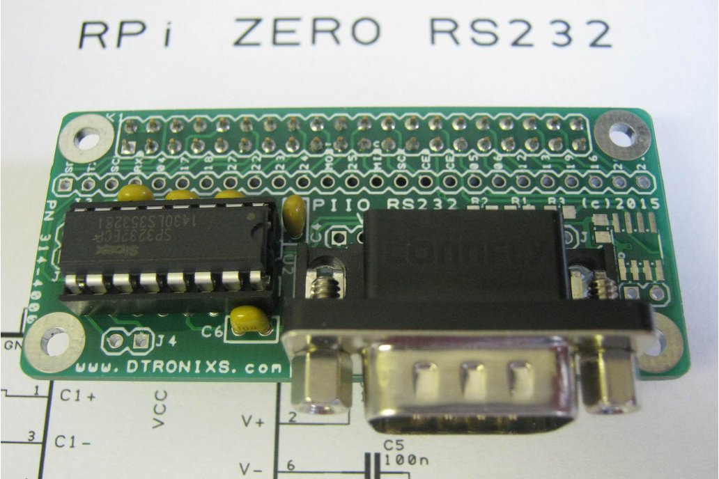 Raspberry Pi Zero - PIIO RS232 1