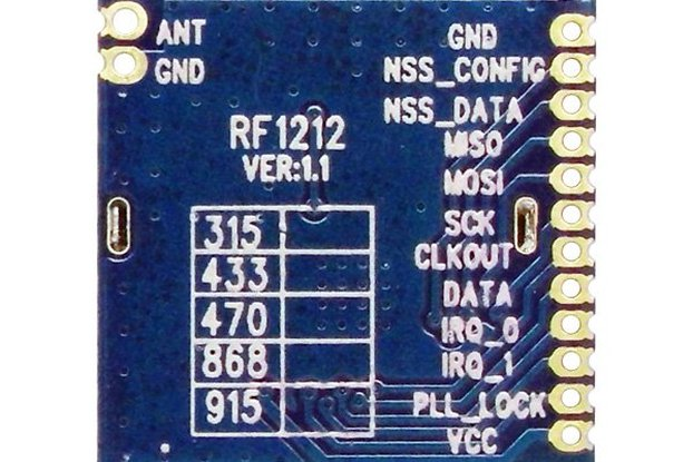 RF1212 Ultra-low power Wireless Transceiver Module