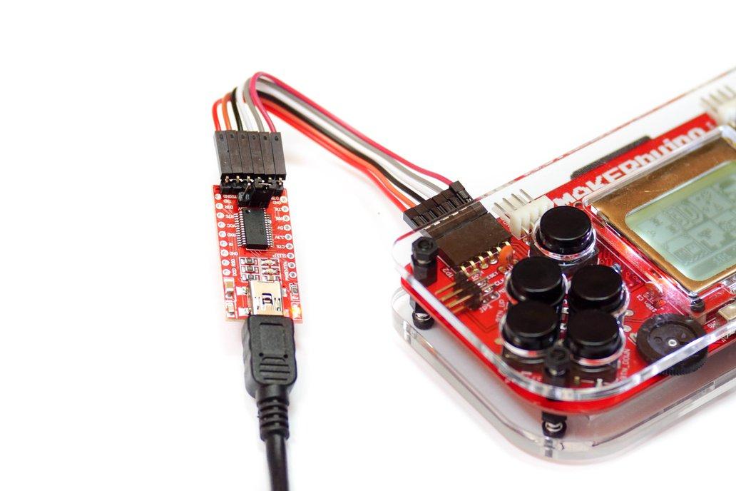 MAKERbuino - a DIY game console 10