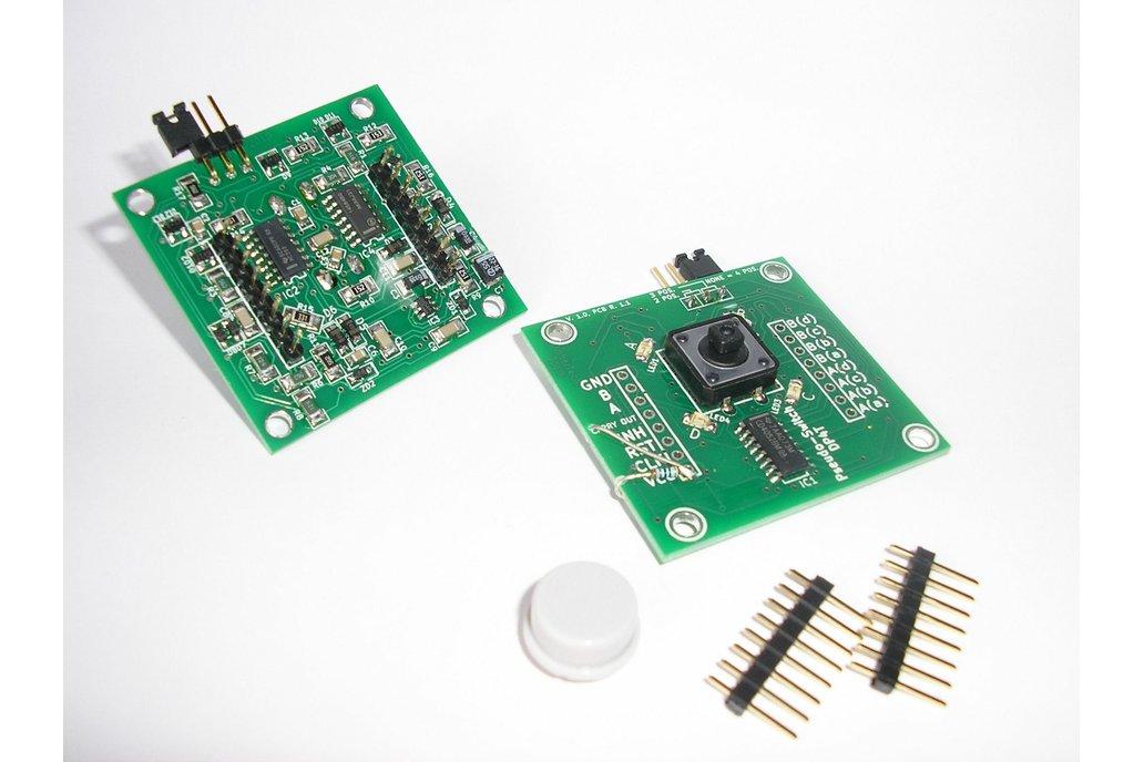 Pseudo-Switch DP4T: 4pos. AC/DC Analogue Switch 1