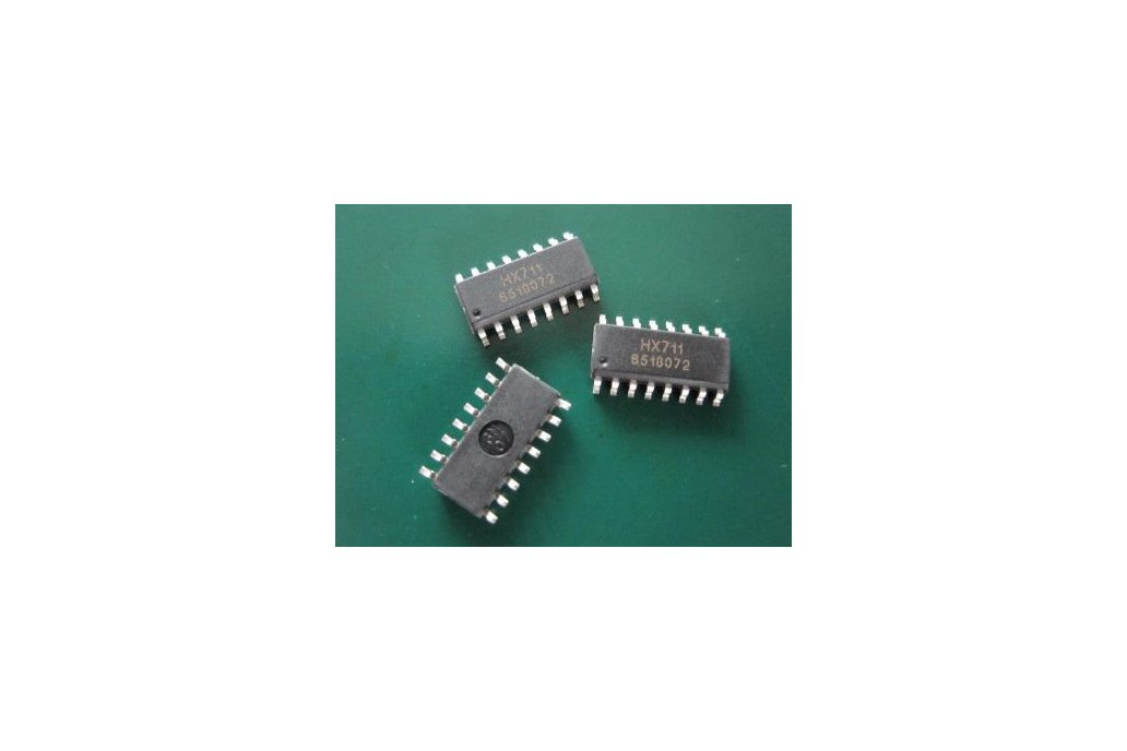 HX711 24 bits Loadcell amplifier/driver chip 2