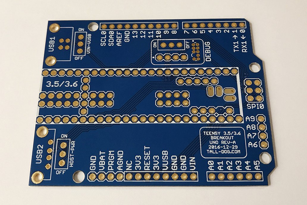 Teensy 3.5/3.6 Breakout (Revision A, Uno) 2