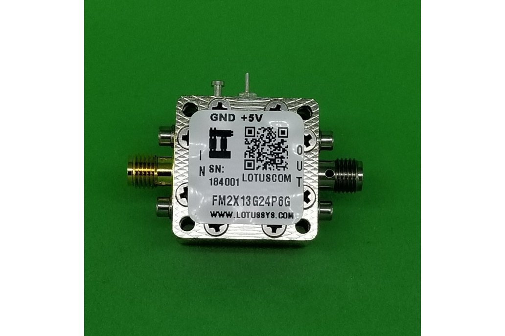 Act Freq. Multiplier X2 (OUTPUT 13G to 24.6G Hz) 1