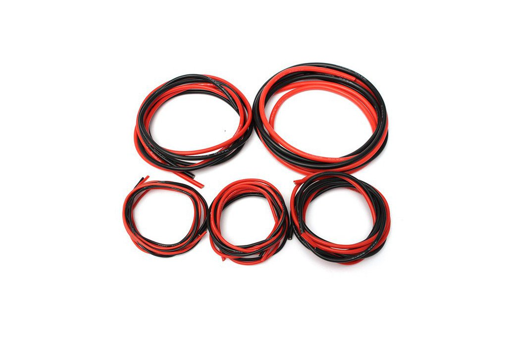 Soft Silicone Flexible Wire Cable 12-20 AWG 1
