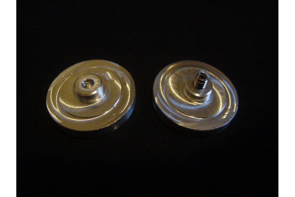 FidgetWithThis Fidget Spinner FULL Ceramic Bearing 6