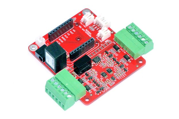 4channel analog input module for Raspberry Arduino
