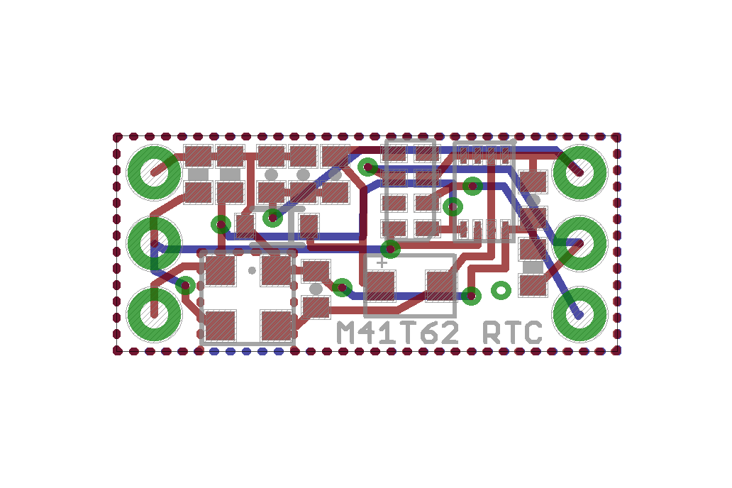 M41T62 Real Time Clock Add-On for Teensy 3.X 4
