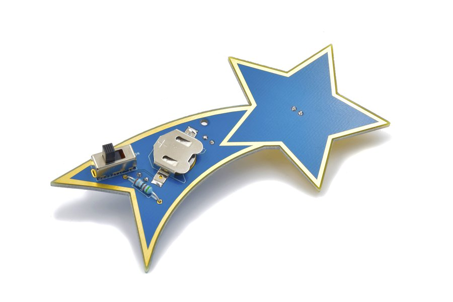 Shooting Star Learn To Solder Kit