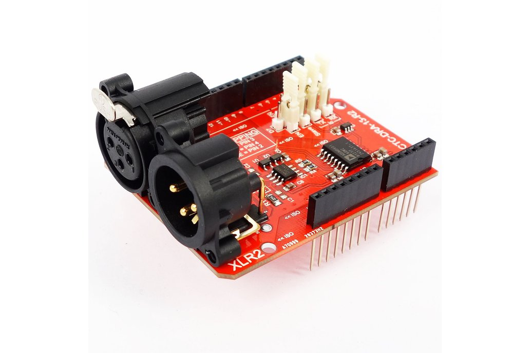 2.5kV Isolated DMX 512 Shield for Arduino - R2 1