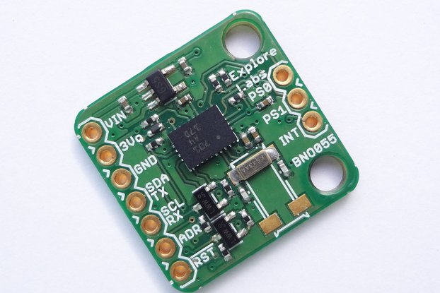 BNO-055 9-Axis IMU Sensor with Hardware Fusion