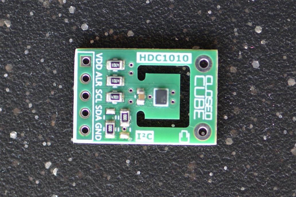 HDC1010 High Accuracy Humidity/Temperature Sensor 1