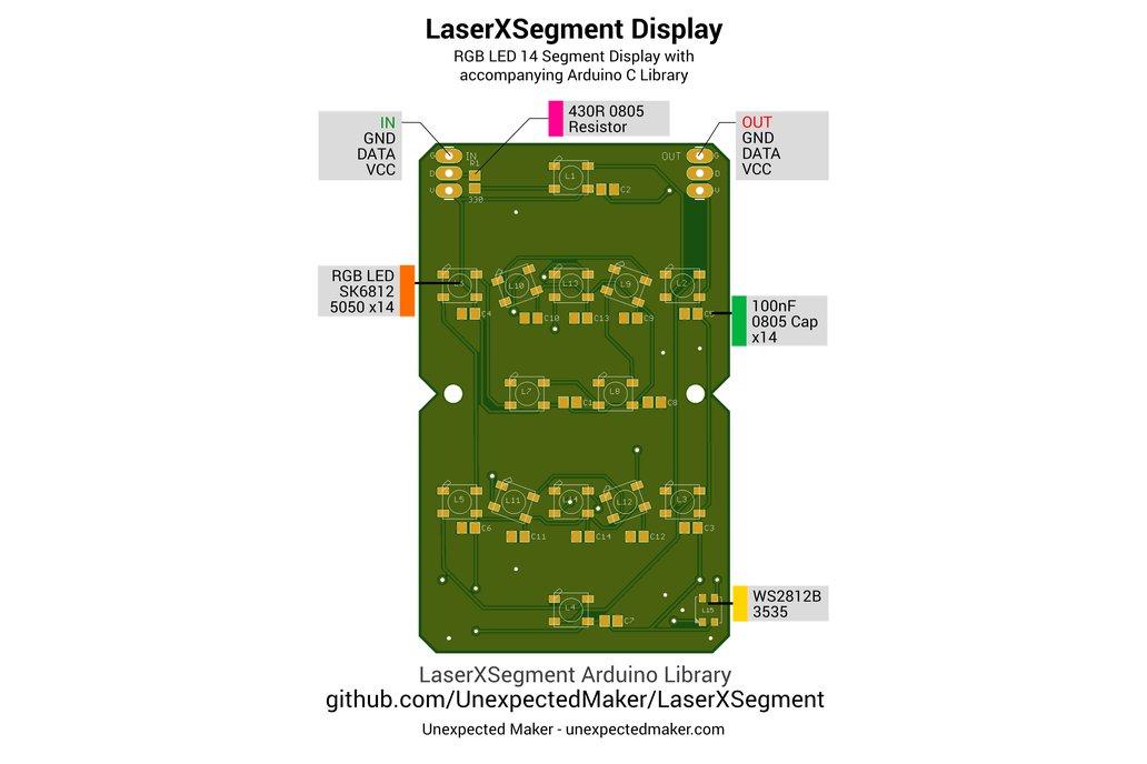 Laser Segment Display 7