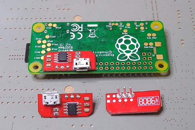 Solderless Serial to USB adapter for RPi (CDC)