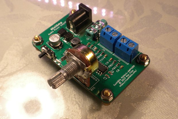 MiniAmp Speaker Amplifier Board