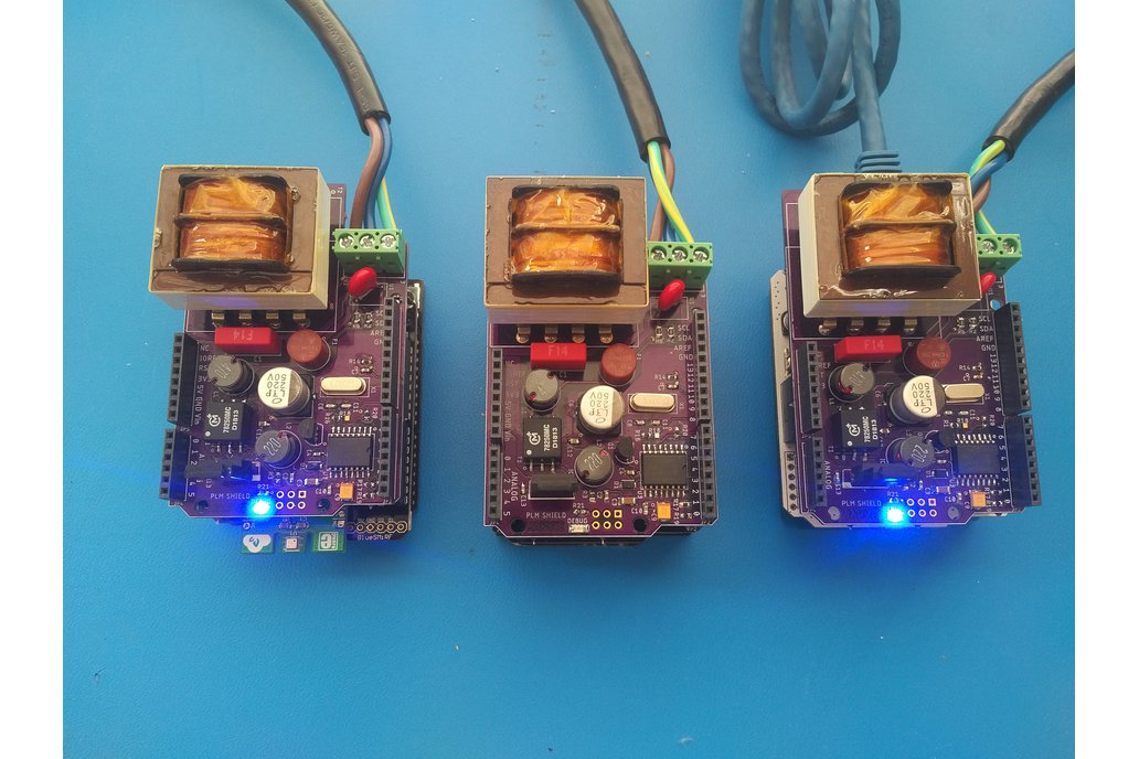 Smart Home Arduino Powerline Communications Shield 1