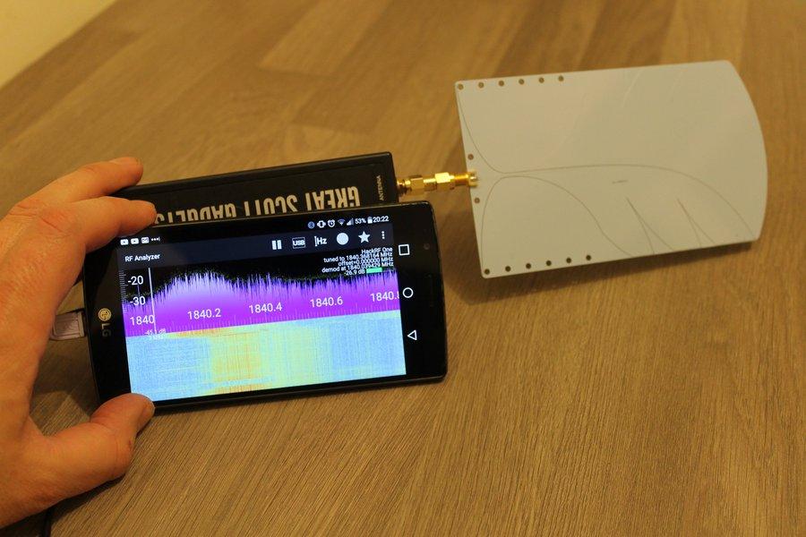 Ultra-WideBand Vivaldi Antenna 800MHz to 6GHz+