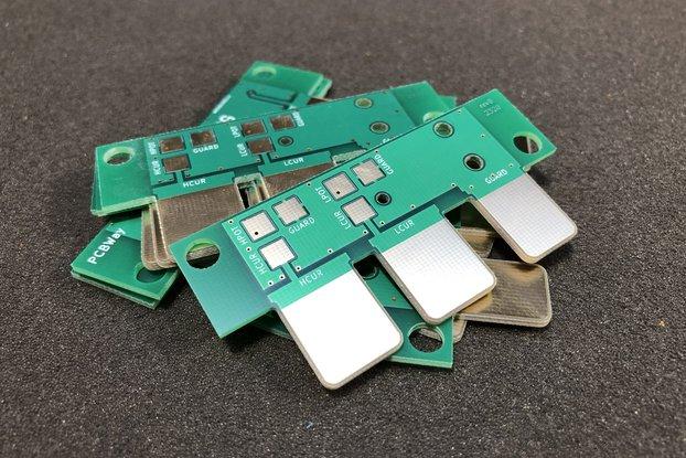 LCR Meter Kelvin Test Lead Adapter PCB