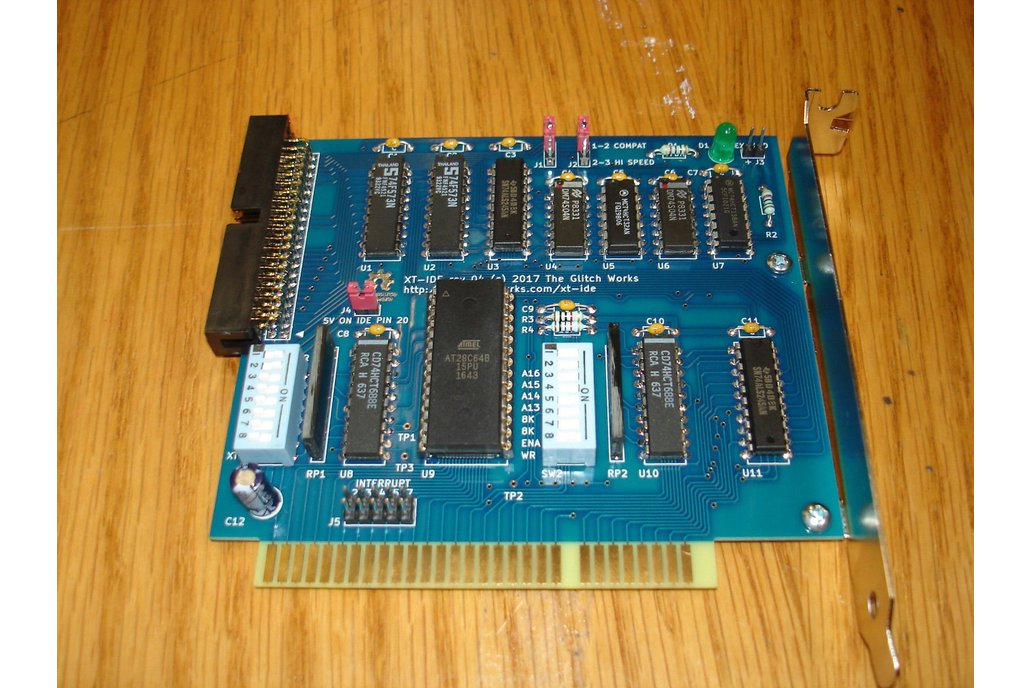 XT-IDE rev 4 Assembled/Tested 8 Bit ISA GW-XTIDE-4 1