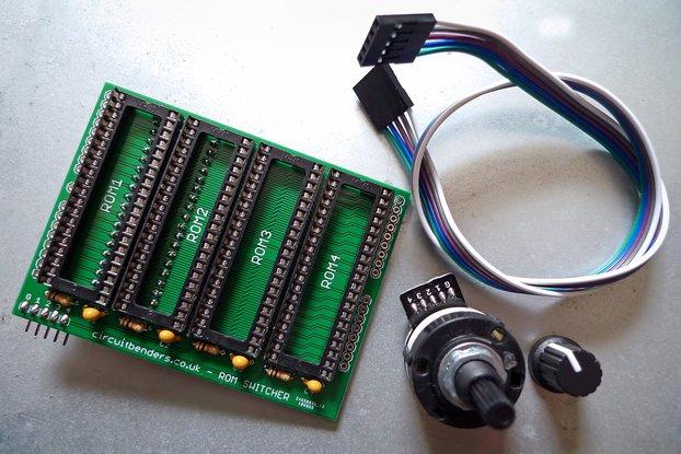 No solder ROM switcher kit for AMIGA kickstart