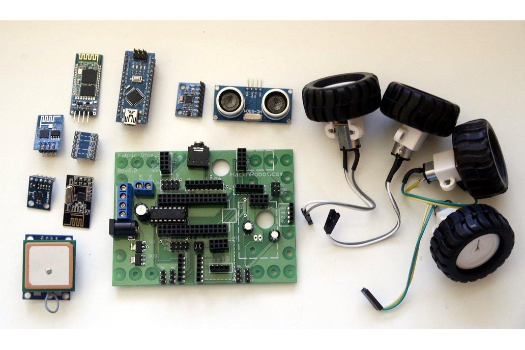 Hackabot Nano (Arduino compatible robot kit) 2