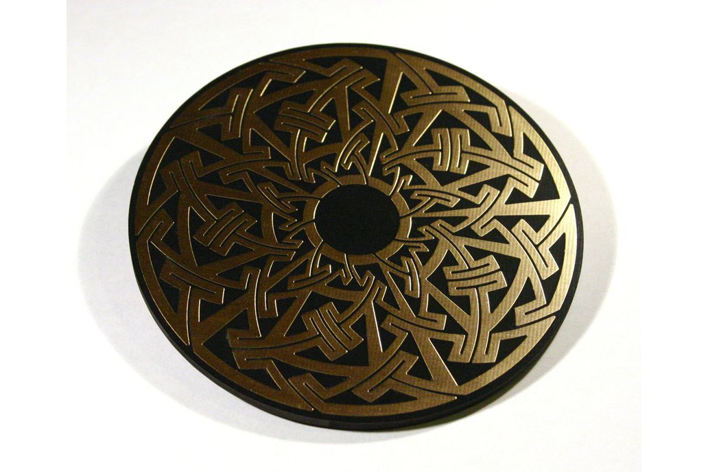 Celtic/Pictish circuit board drinks coasters 1