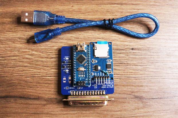 SDbox SD-card reader / Harddriv for parallel Amiga