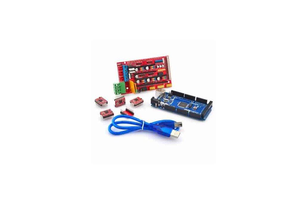 3D Printer Control Board Set 2560 R3 Control Board for Arduino & Ramps1.4 Control Board  1