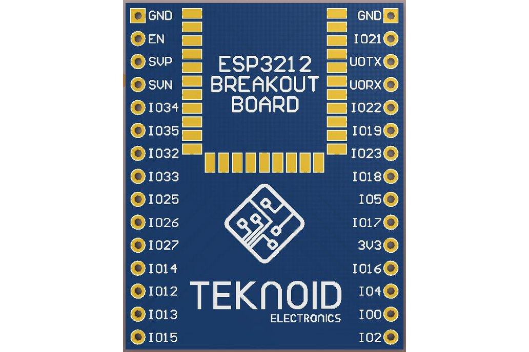 ESP3212 Breakout Board 1