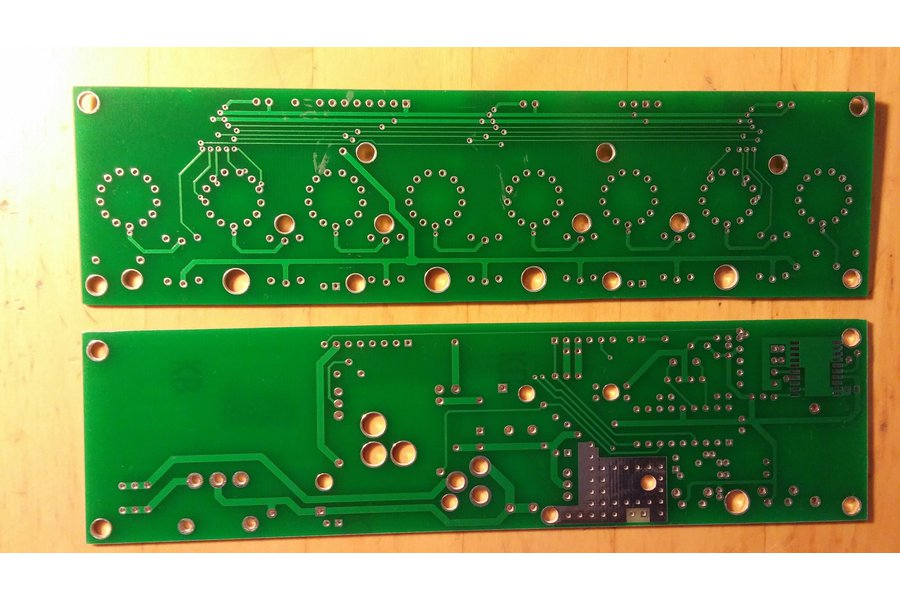 Nixie Divergence Meter from Tom Titor IN-14 Nixies