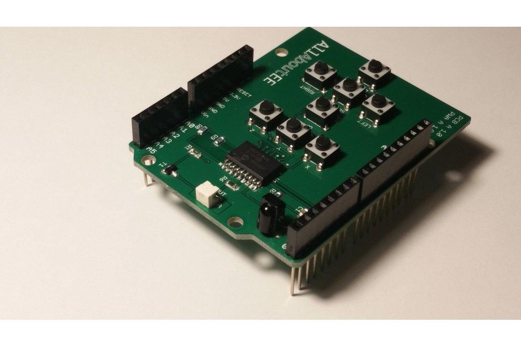 Infrared Remote Control Shield for Arduino 2