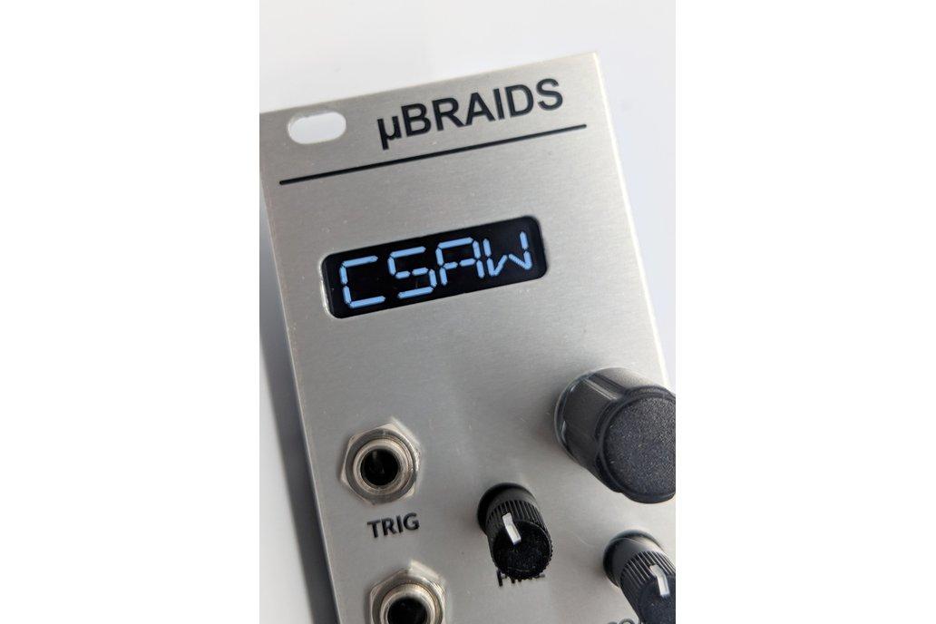 uBraids (Microbraids) | Complete Eurorack Module 1