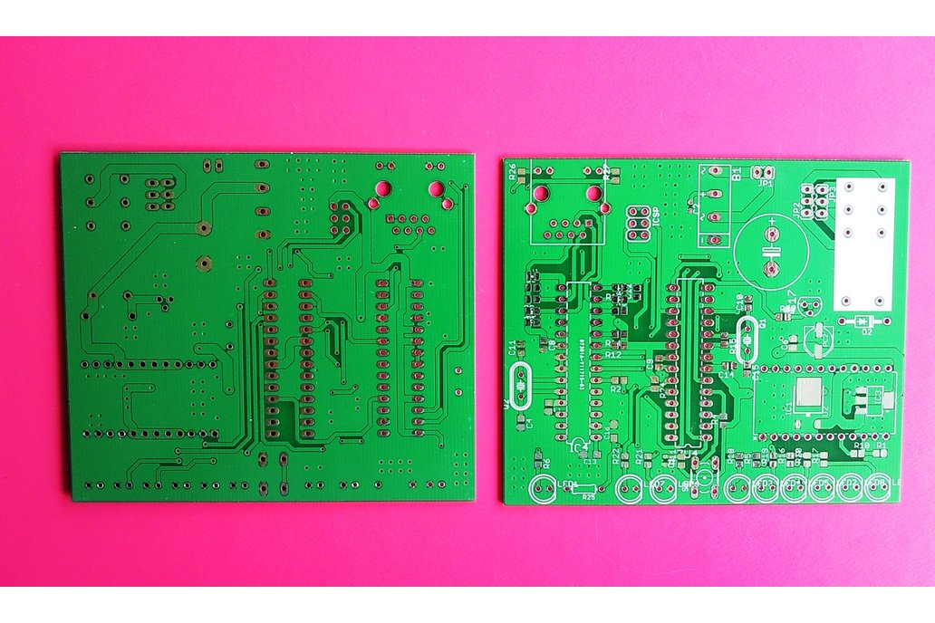 Bare PCB for a Atmega328 based Webserver 1