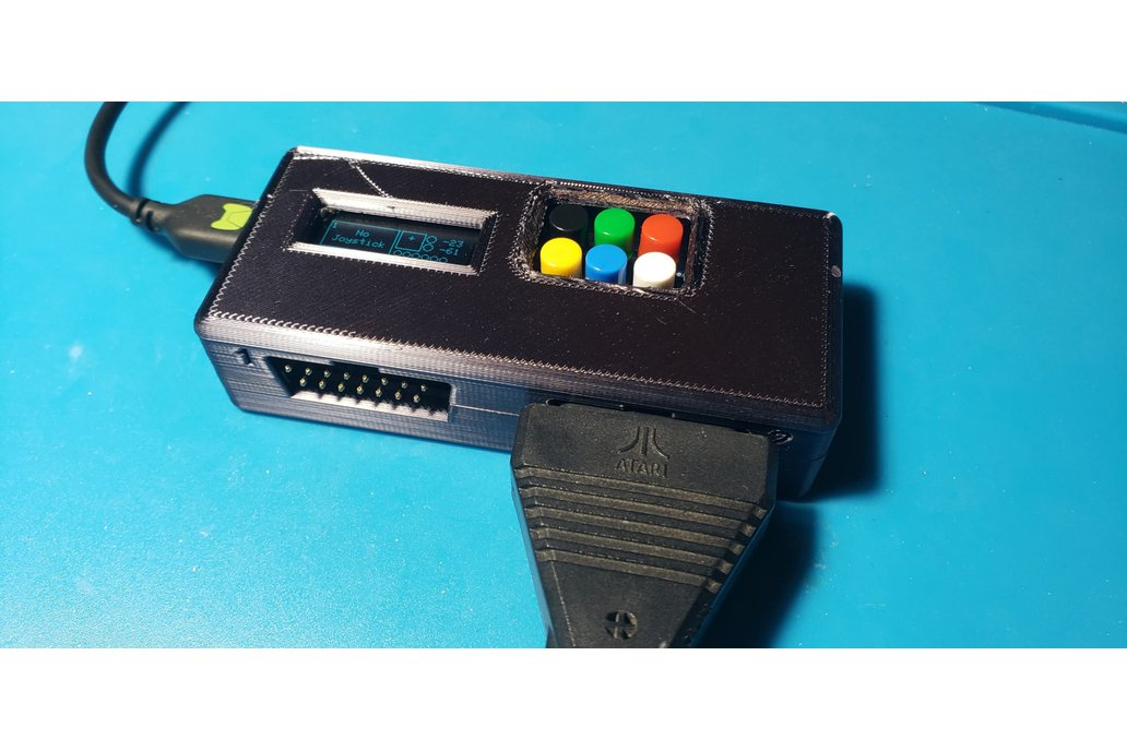 Atari 5200 Controller to USB Adapter - Dual Ports! 1