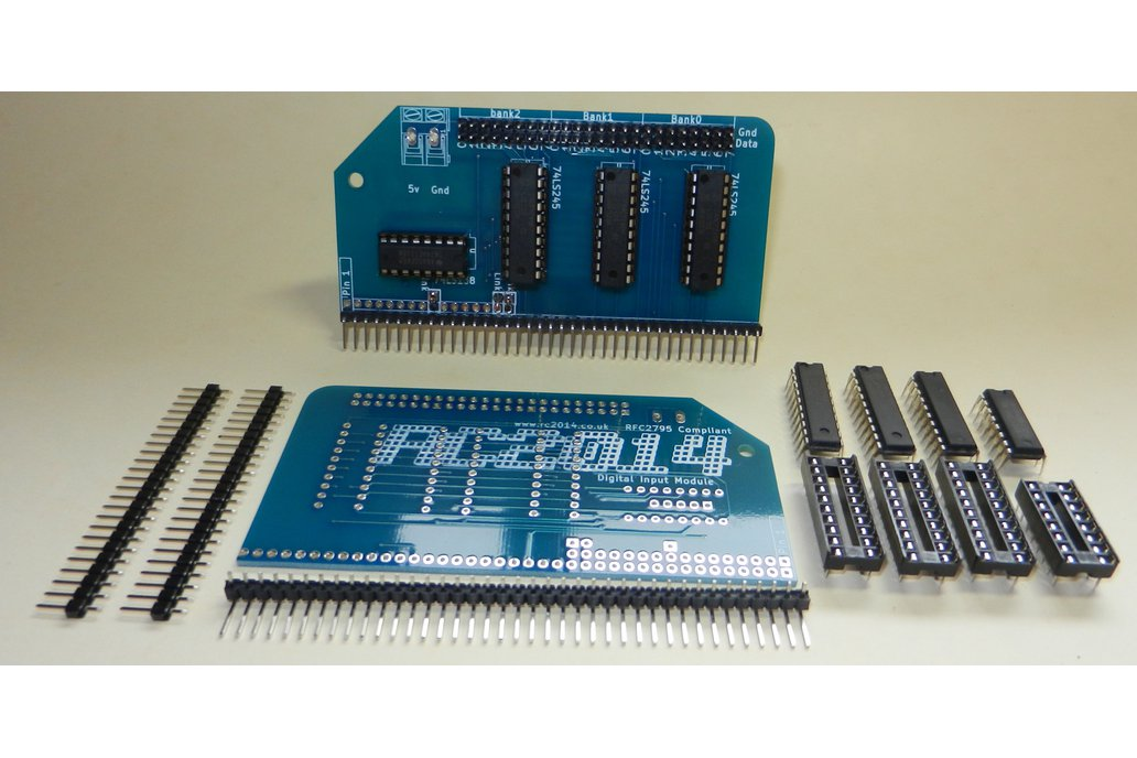 Digital Input Module For RC2014 Z80 Computer 1