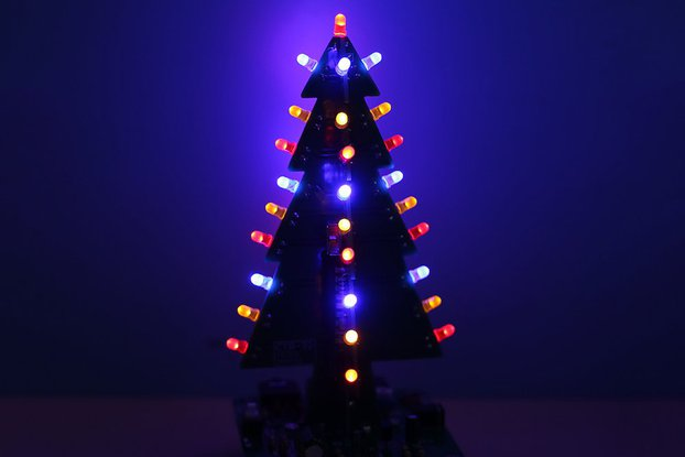 Sound Control Christmas Tree LED Kit (GY18597)