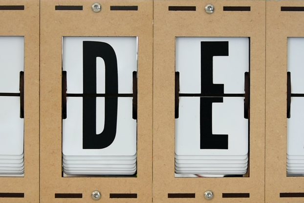 Split-flap Display Kit (4 characters)
