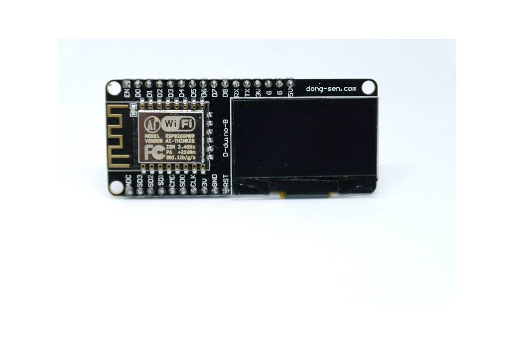 D-duino-B(Arduino&NodeMCU&ESP8266&1.3OLED) 2