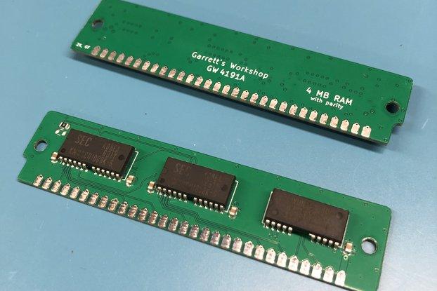 GW4191A -- 4x 4 MB 30-pin parity SIMM (16 MB kit)